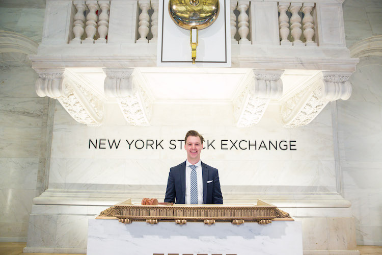 Mike Decker at NYSE